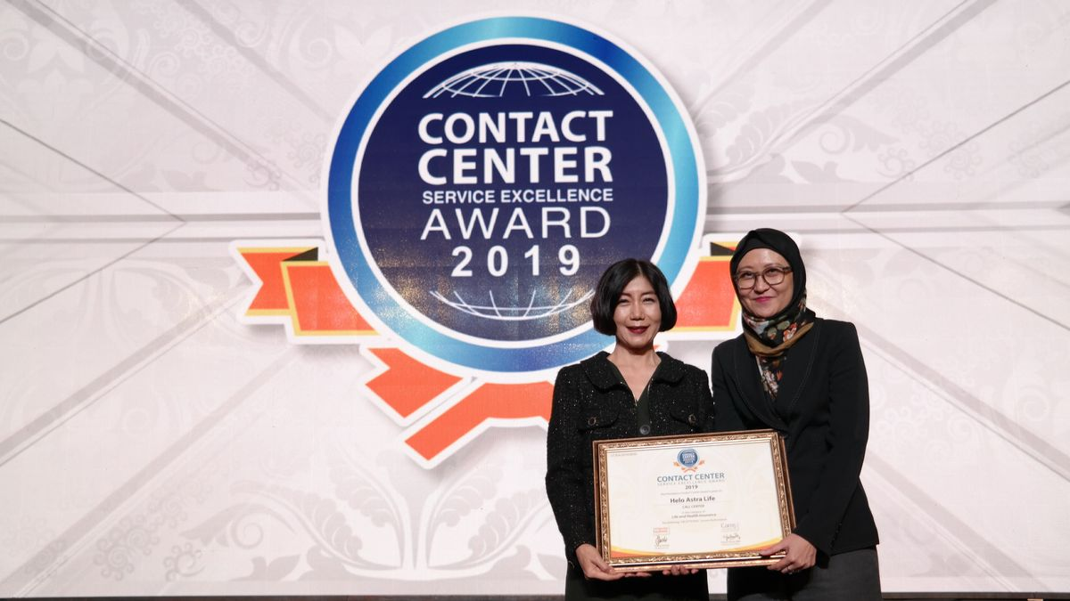 Astra Life Raih Penghargaan di Ajang Contact Center Service Excellence Award 2019